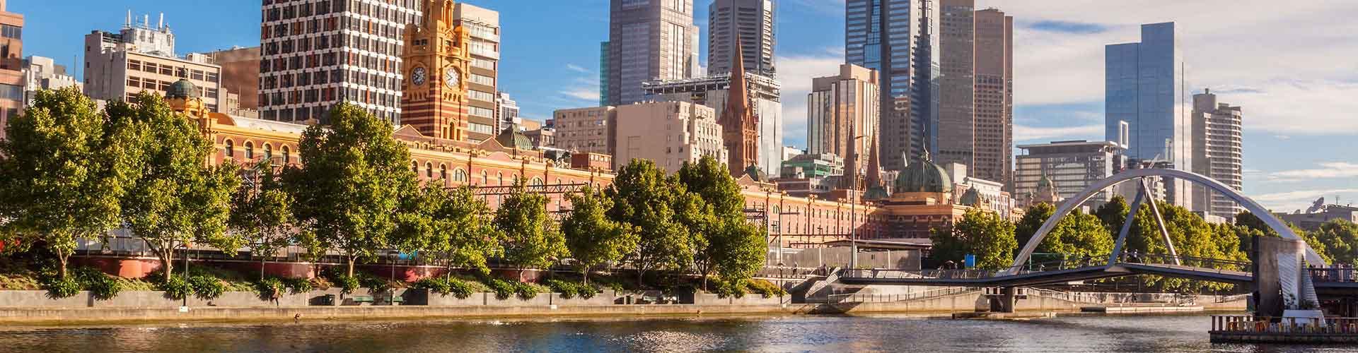 メルボルン – Melbourne地区のアパート. 地図 メルボルン, すべてのアパートの写真とレビュー メルボルン.