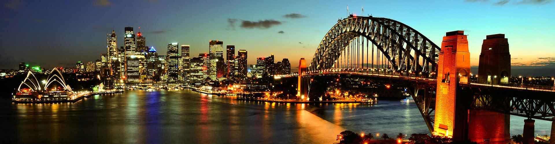 シドニー – Glebe地区のアパート. 地図 シドニー, すべてのアパートの写真とレビュー シドニー.