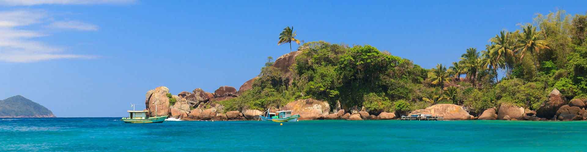グランデ島 – ホステル グランデ島. 地図 グランデ島, すべてのホステルの写真とレビュー グランデ島.