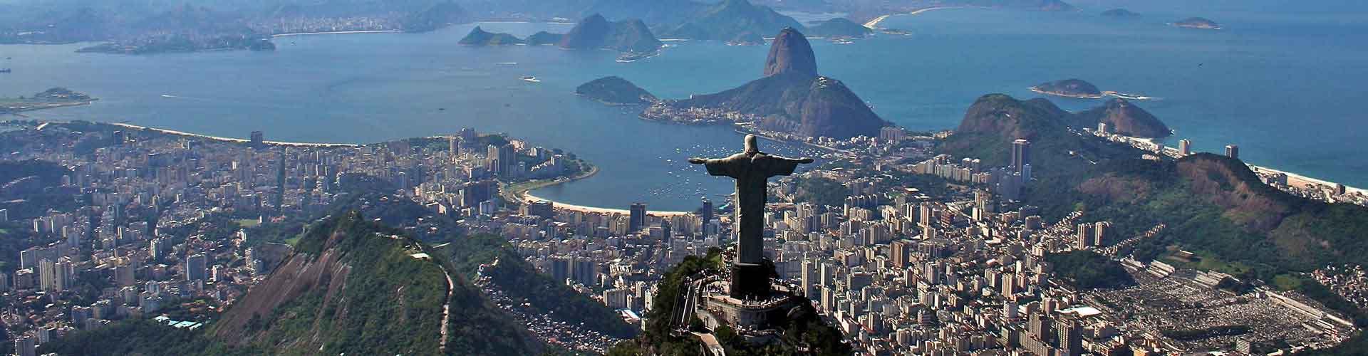 リオデジャネイロ – Copacabana地区のユースホステル. 地図 リオデジャネイロ, すべてのユースホステルの写真とレビュー リオデジャネイロ.