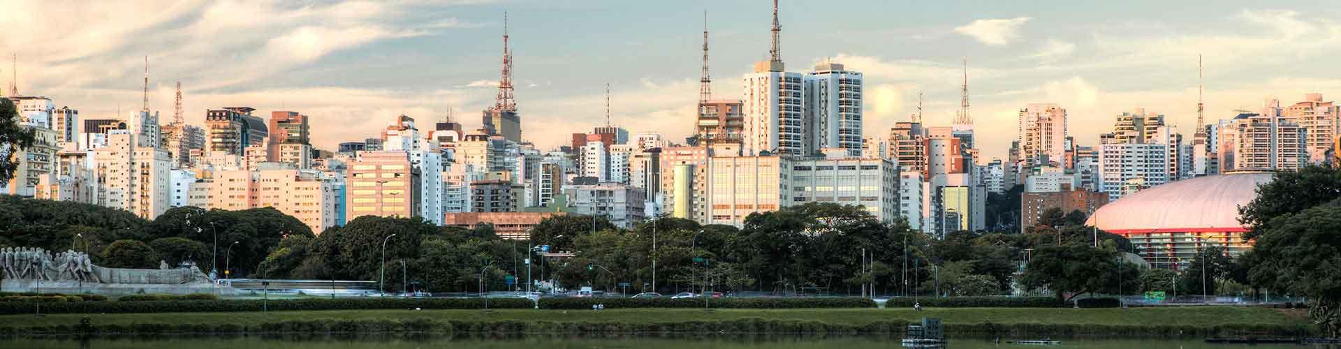 サンパウロ – コンゴーニャス·サンパウロ空港の近くにあるホステル. 地図 サンパウロ, すべてのホステルの写真とレビュー サンパウロ.