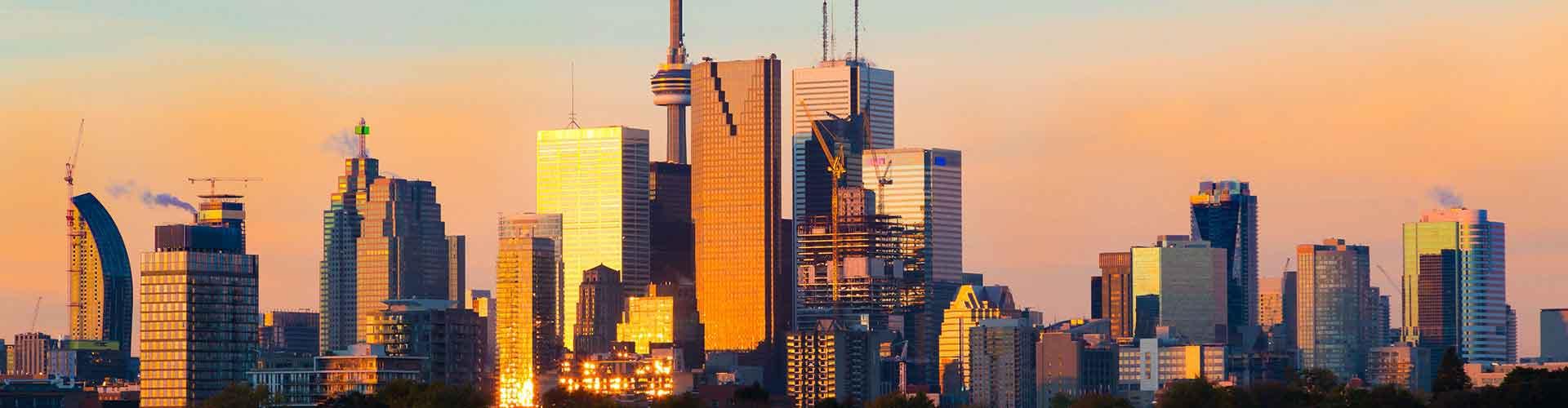 トロント – Downtown Toronto地区のホテル. 地図 トロント, すべてのホテルの写真とレビュー トロント.