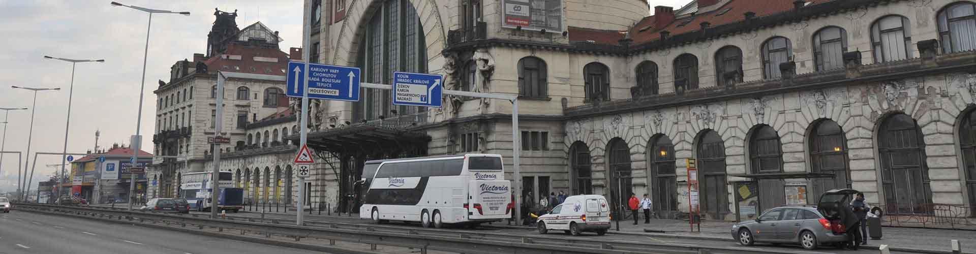 プラハ – プラハ本駅の近くにあるホステル. 地図 プラハ, すべてのホステルの写真とレビュー プラハ.