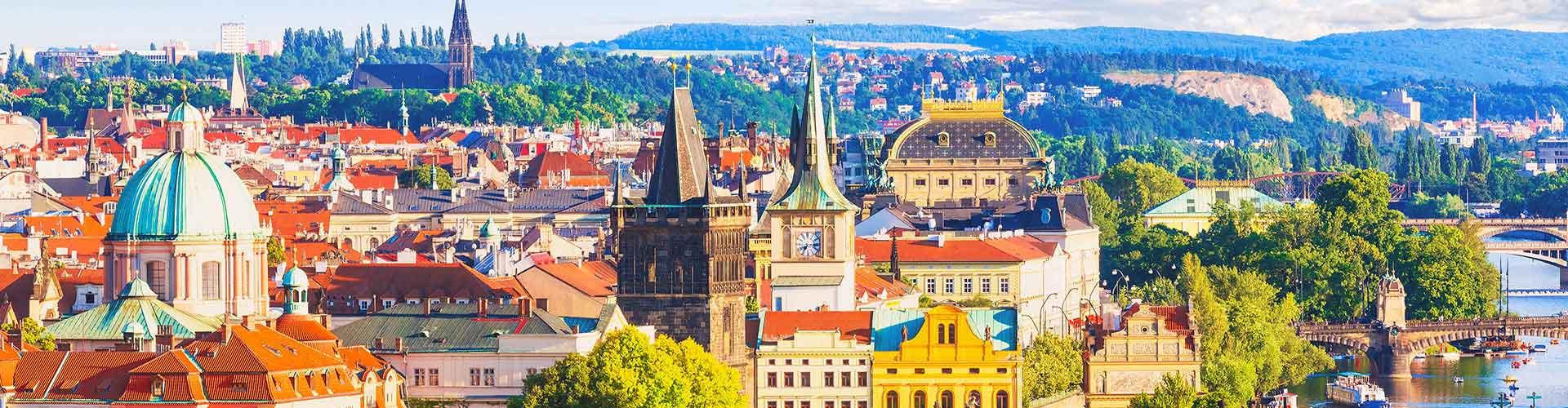 プラハ – Stodulky地区のユースホステル. 地図 プラハ, すべてのユースホステルの写真とレビュー プラハ.
