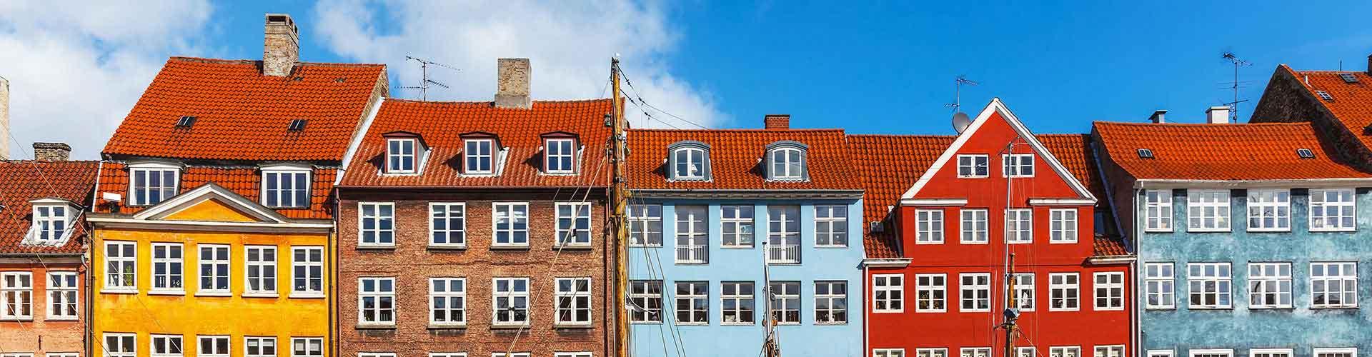コペンハーゲン – Frederiksberg地区のユースホステル. 地図 コペンハーゲン, すべてのユースホステルの写真とレビュー コペンハーゲン.