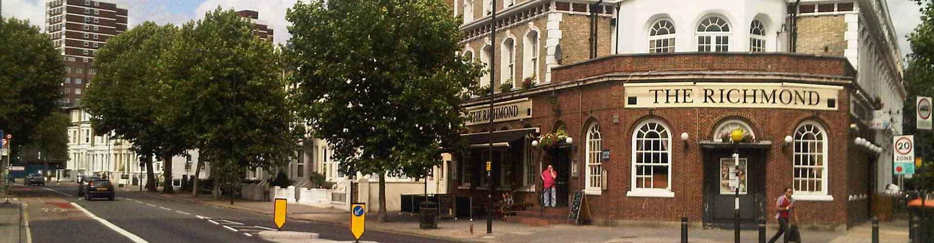 ロンドン – Borough of Hammersmith and Fulham地区のキャンプ場. 地図 ロンドン, すべてのキャンプ場の写真とレビュー ロンドン.