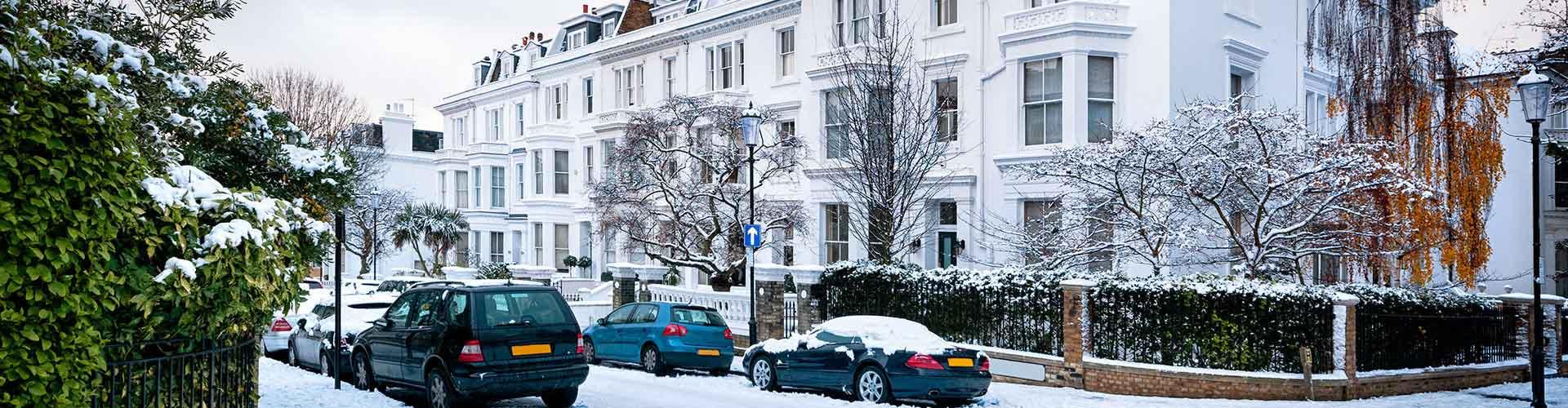 ロンドン – Borough of Kensington and Chelsea地区のユースホステル. 地図 ロンドン, すべてのユースホステルの写真とレビュー ロンドン.
