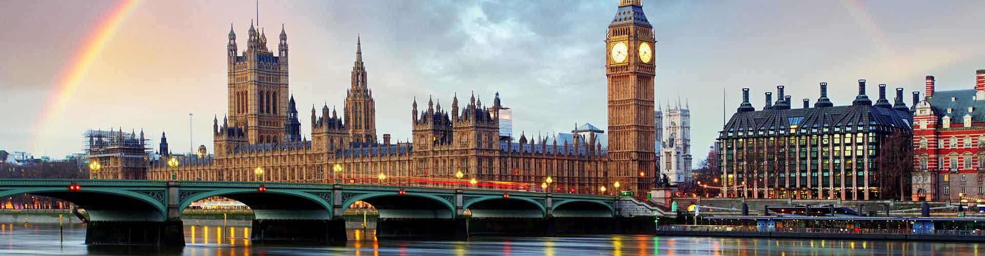ロンドン – Borough of Westminster地区のユースホステル. 地図 ロンドン, すべてのユースホステルの写真とレビュー ロンドン.