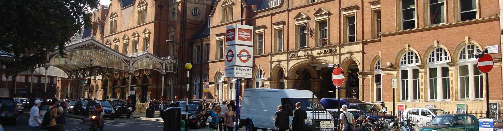 ロンドン – Marylebone地区のユースホステル. 地図 ロンドン, すべてのユースホステルの写真とレビュー ロンドン.