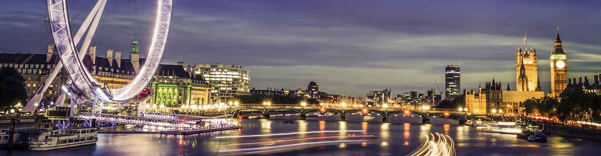 ロンドン – ロンドン大観覧車の近くにあるホステル. 地図 ロンドン, すべてのホステルの写真とレビュー ロンドン.