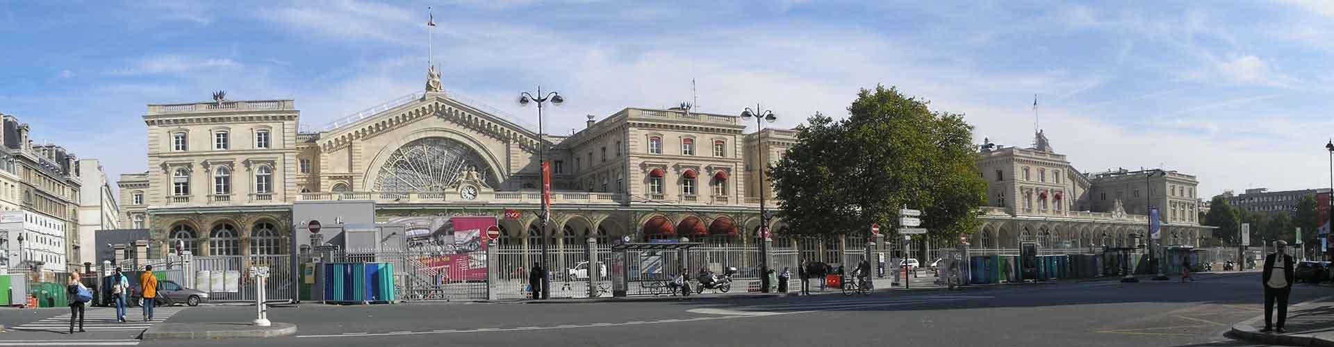 パリ – 10th District地区のアパート. 地図 パリ, すべてのアパートの写真とレビュー パリ.