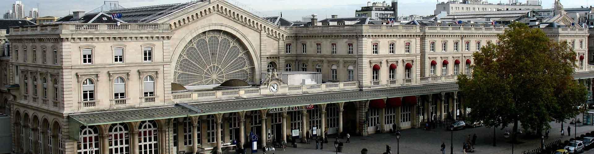 パリ – Gare de l'Est地区のユースホステル. 地図 パリ, すべてのユースホステルの写真とレビュー パリ.