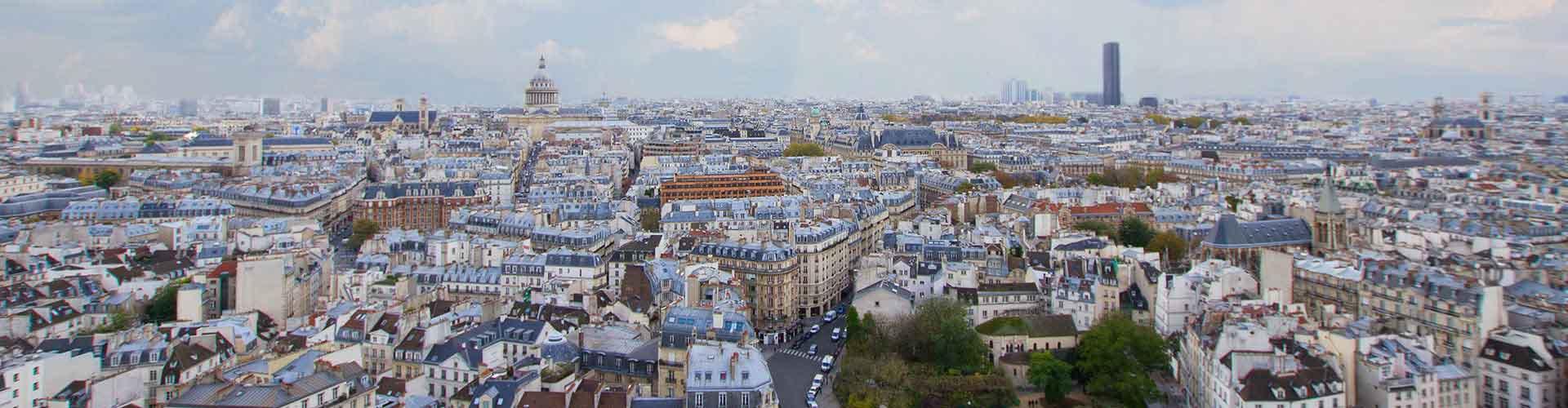 パリ – Quartier Latin地区のユースホステル. 地図 パリ, すべてのユースホステルの写真とレビュー パリ.