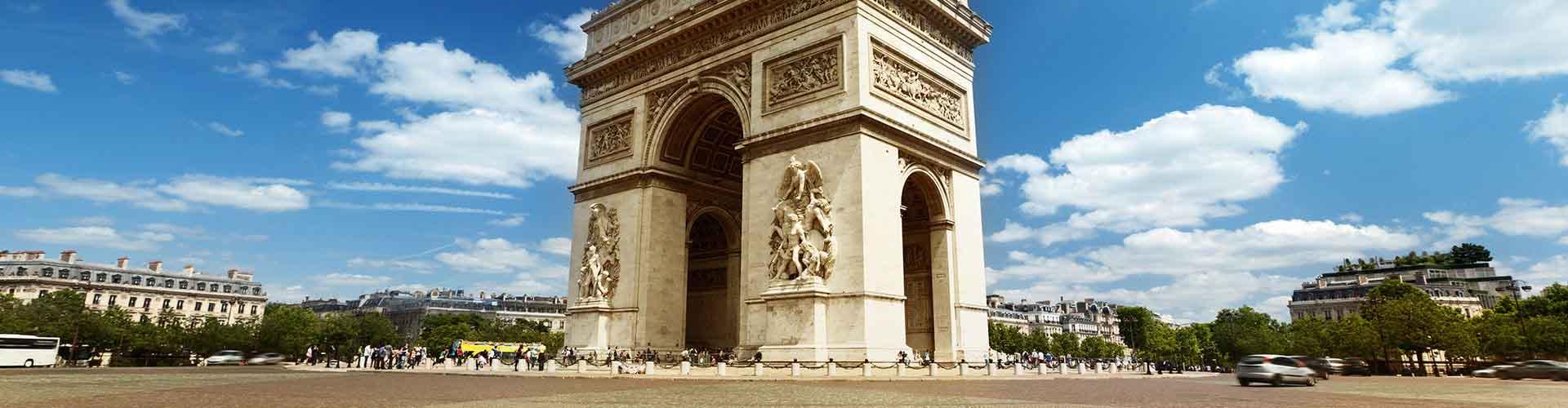 パリ – Arc de Triompheの近くにあるホステル. 地図 パリ, すべてのホステルの写真とレビュー パリ.