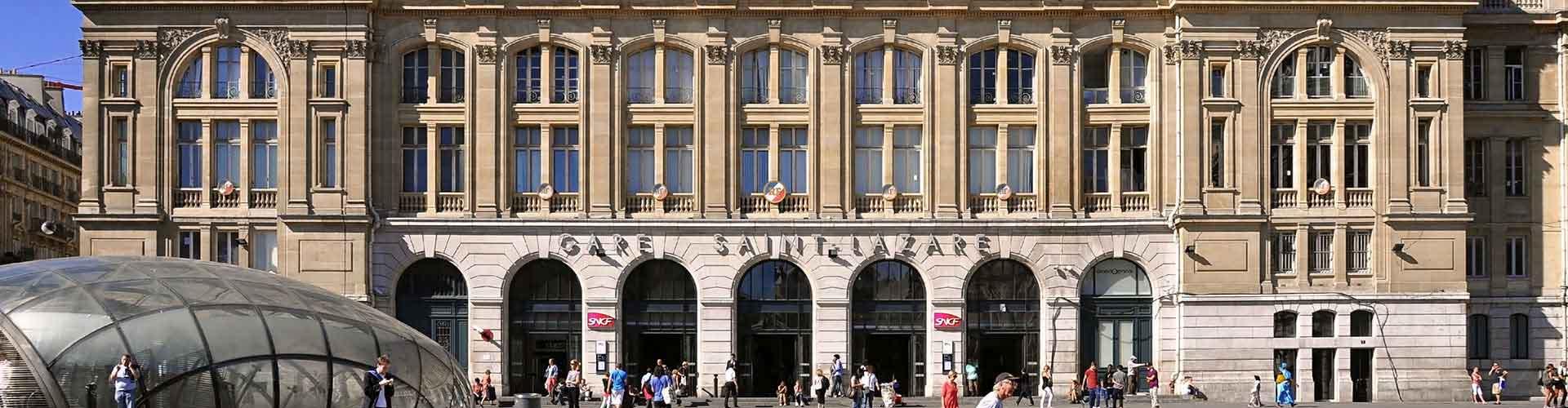 パリ – サン·ラザール駅の近くにあるホステル. 地図 パリ, すべてのホステルの写真とレビュー パリ.