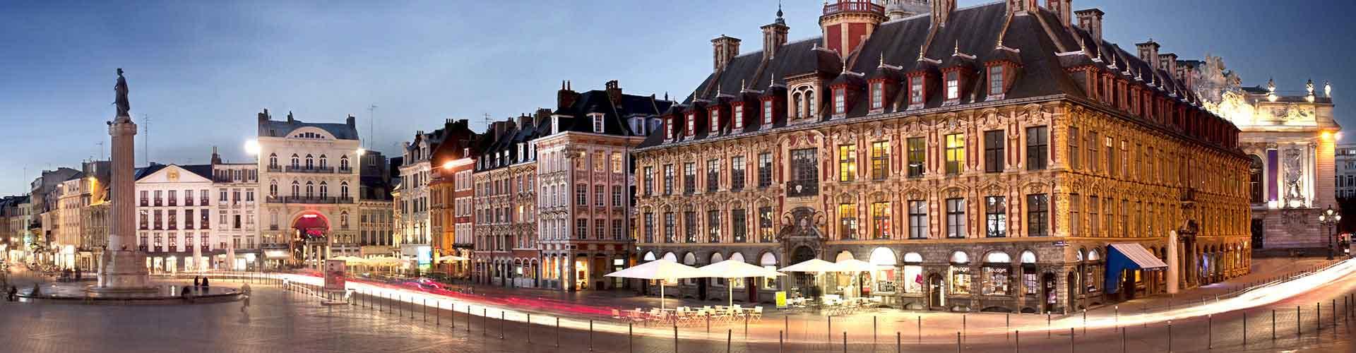 リール – ガール·ドゥ·リール·フランドルの近くにあるホテル. 地図 リール, すべてのホテルの写真とレビュー リール.