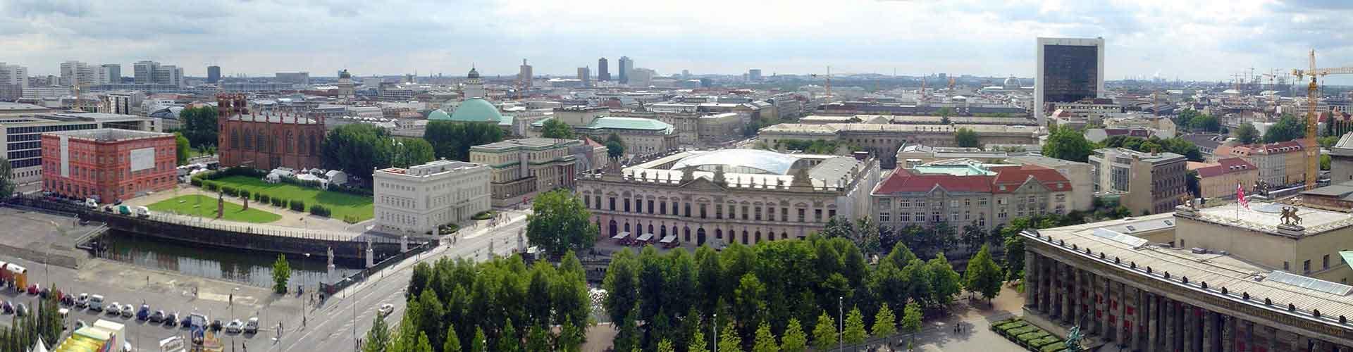 ベルリン – Mitte地区のユースホステル. 地図 ベルリン, すべてのユースホステルの写真とレビュー ベルリン.