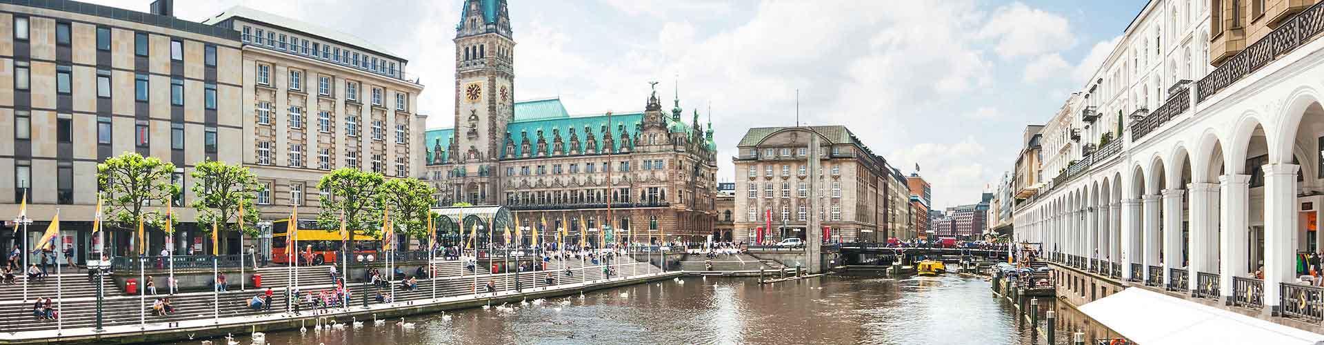 ハンブルク – Altona Altstadt地区のユースホステル. 地図 ハンブルク, すべてのユースホステルの写真とレビュー ハンブルク.