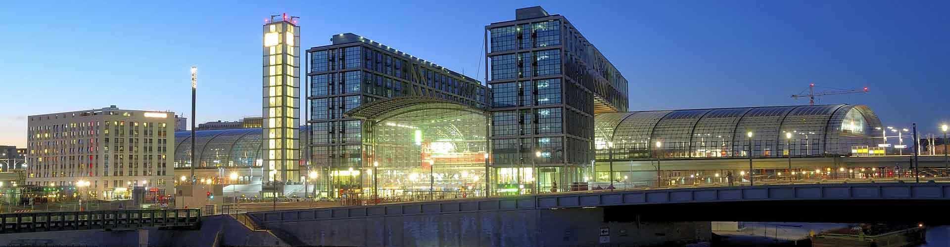 ベルリン – ベルリン中央駅の近くにあるホステル. 地図 ベルリン, すべてのホステルの写真とレビュー ベルリン.