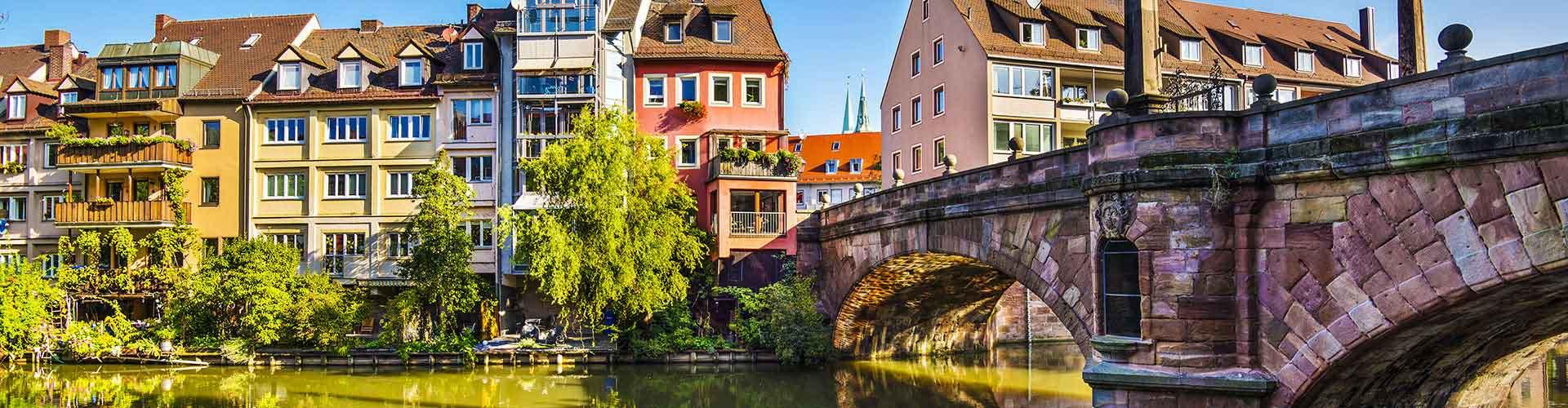 ニュルンベルク – Gleissbuehl地区のユースホステル. 地図 ニュルンベルク, すべてのユースホステルの写真とレビュー ニュルンベルク.