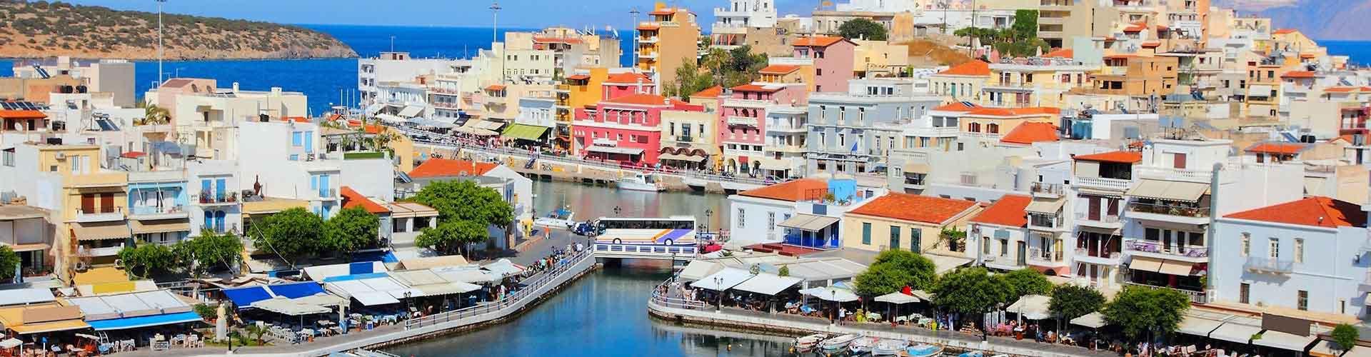 クレタ島 – ホステル クレタ島. 地図 クレタ島, すべてのホステルの写真とレビュー クレタ島.