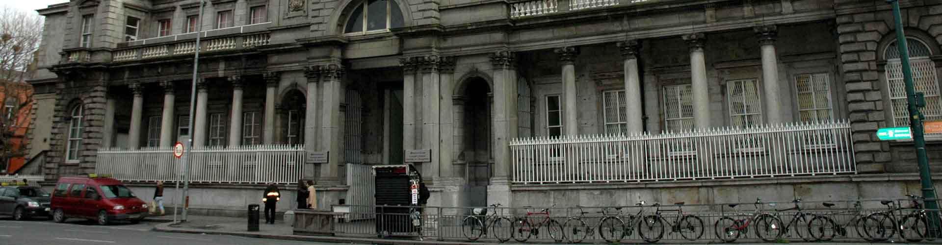 ダブリン – ダブリン·コノリー駅の近くにあるホステル. 地図 ダブリン, すべてのホステルの写真とレビュー ダブリン.