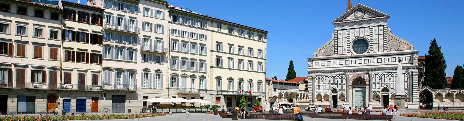 フィレンツェ – Santa Maria Novella地区のホテル. 地図 フィレンツェ, すべてのホテルの写真とレビュー フィレンツェ.