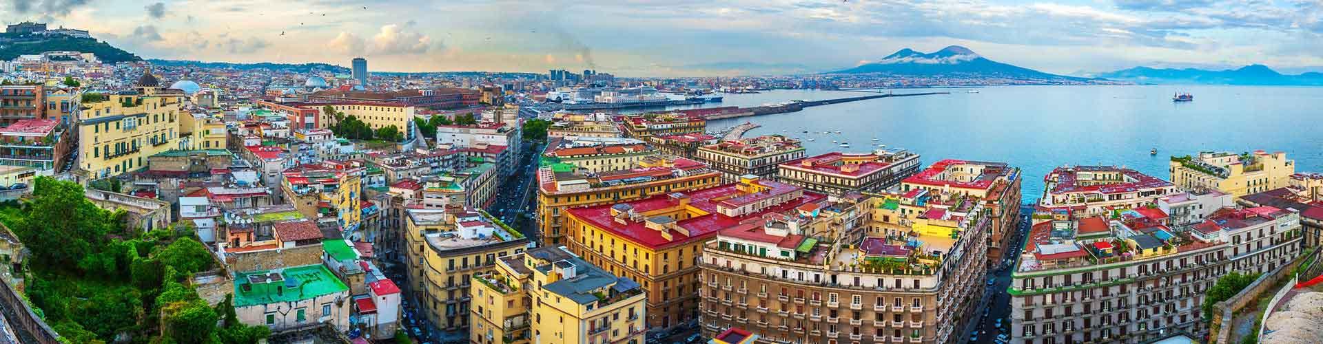 ナポリ – ホステル ナポリ. 地図 ナポリ, すべてのホステルの写真とレビュー ナポリ.