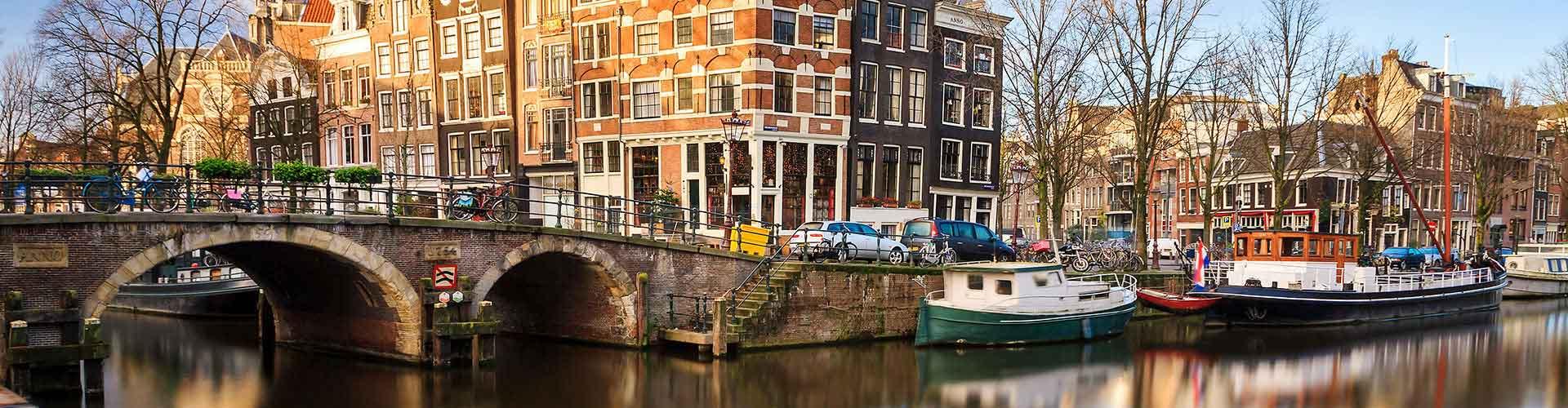 アムステルダム – アムステルダムRAI駅の近くにあるホステル. 地図 アムステルダム, すべてのホステルの写真とレビュー アムステルダム.