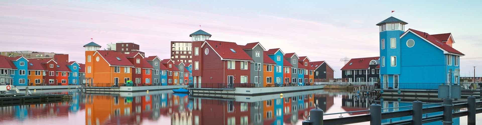 フローニンゲン – ホステル フローニンゲン. 地図 フローニンゲン, すべてのホステルの写真とレビュー フローニンゲン.