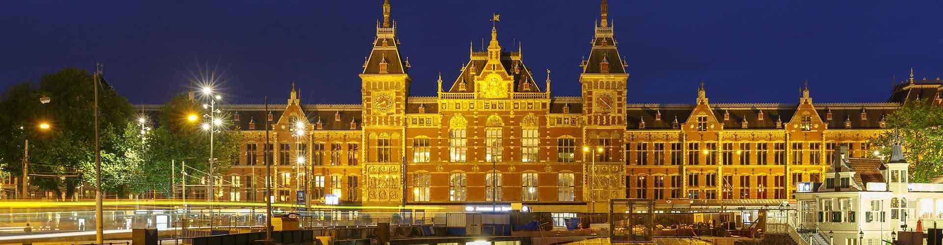 アムステルダム – アムステルダム中央駅の近くにあるホステル. 地図 アムステルダム, すべてのホステルの写真とレビュー アムステルダム.