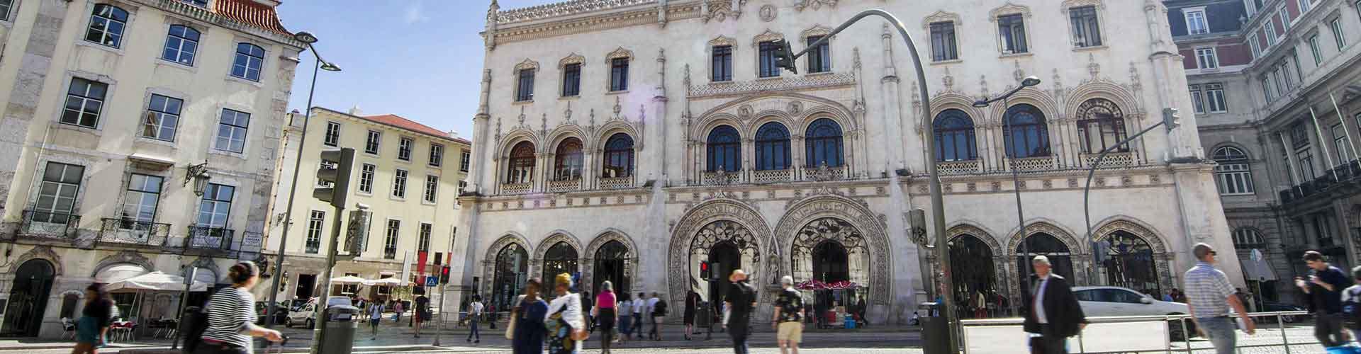リスボン – ロシオ駅の近くにあるアパート. 地図 リスボン, すべてのアパートの写真とレビュー リスボン.