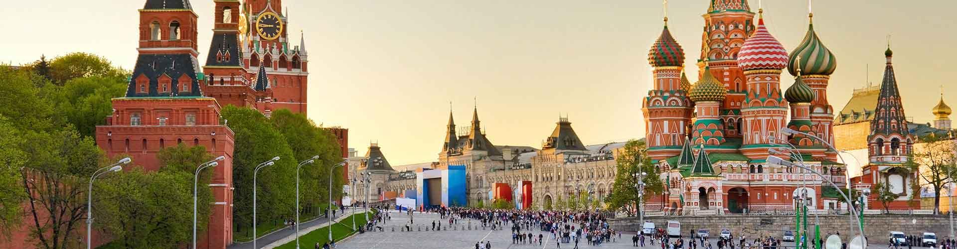 モスクワ – Savyolovsky鉄道ターミナルの近くにあるホステル. 地図 モスクワ, すべてのホステルの写真とレビュー モスクワ.