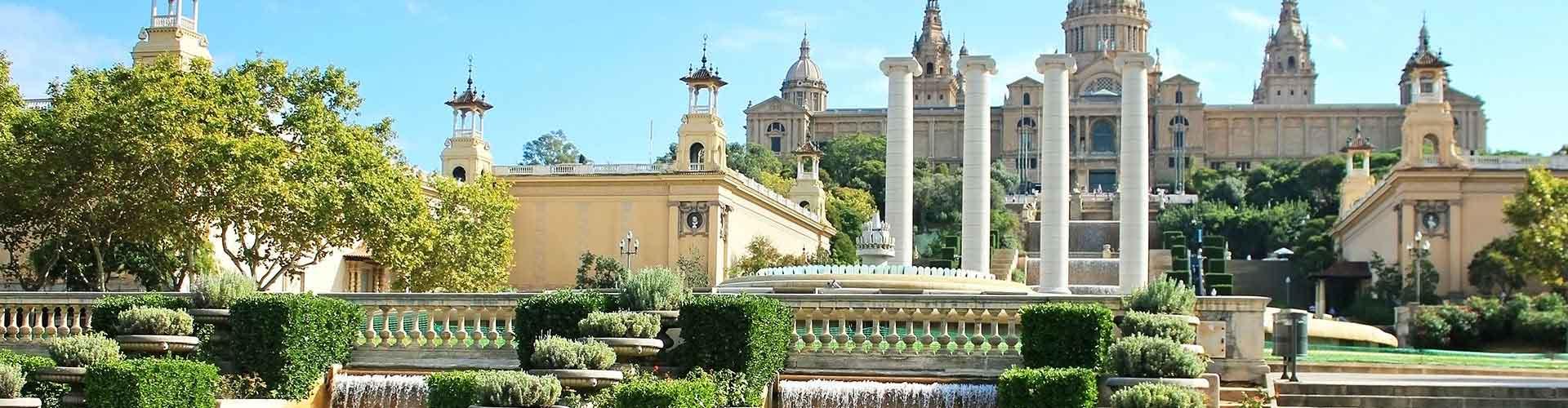 バルセロナ – サンツ駅の近くにあるホステル. 地図 バルセロナ, すべてのホステルの写真とレビュー バルセロナ.