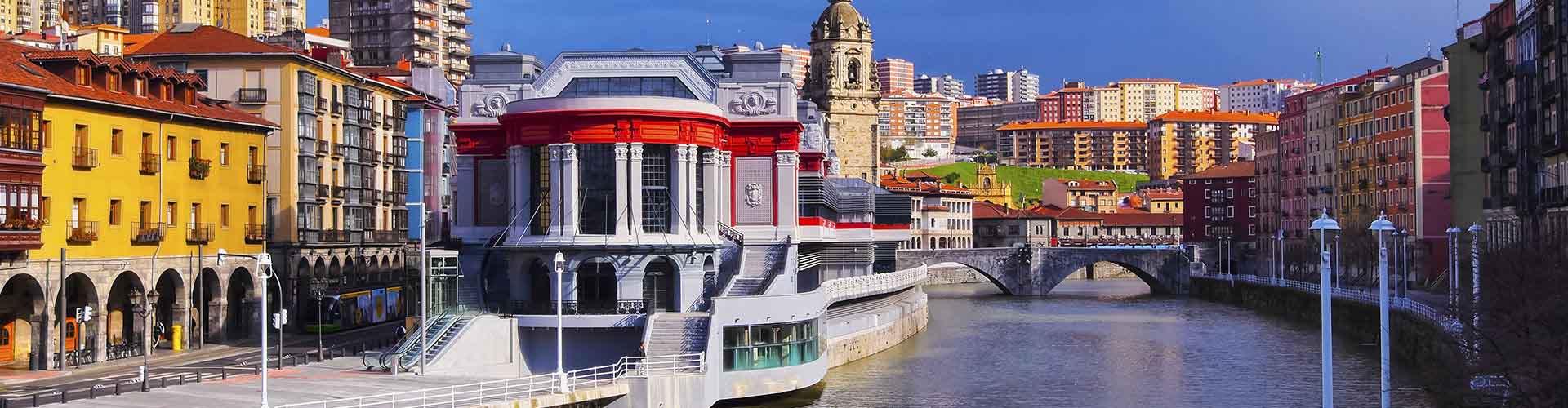 ビルバオ – ホステル ビルバオ. 地図 ビルバオ, すべてのホステルの写真とレビュー ビルバオ.