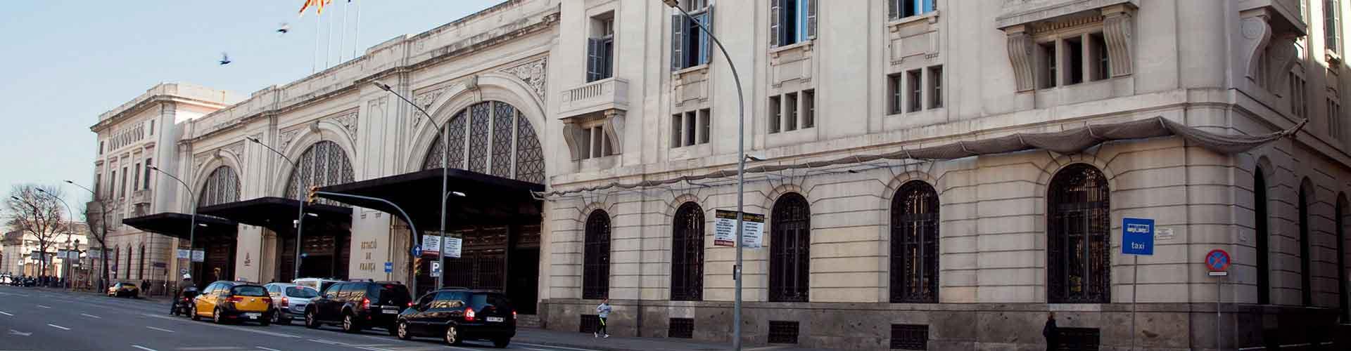 バルセロナ – フランサ駅の近くにあるホテル. 地図 バルセロナ, すべてのホテルの写真とレビュー バルセロナ.