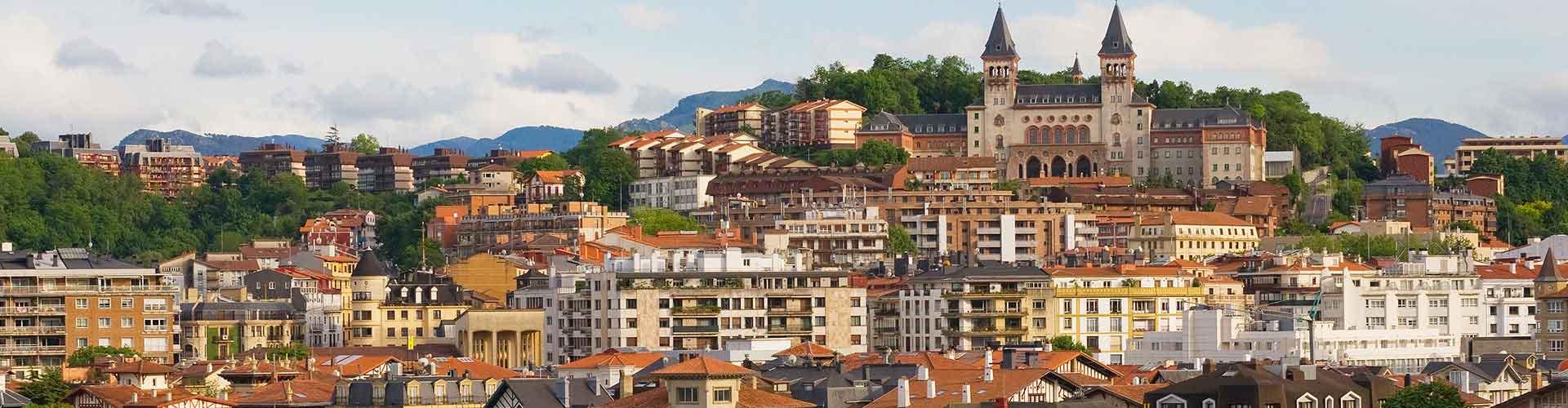 サンセバスティアン – ホステル サンセバスティアン. 地図 サンセバスティアン, すべてのホステルの写真とレビュー サンセバスティアン.